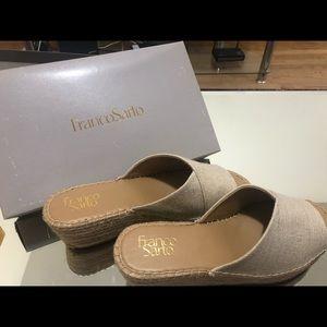 Franco Sarto wedge heels! Brand new with box
